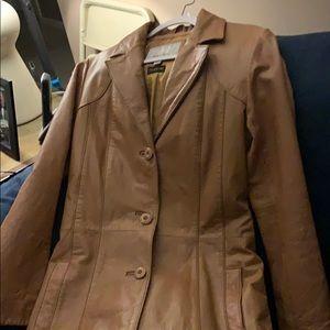 Wilson's maxima trench coat